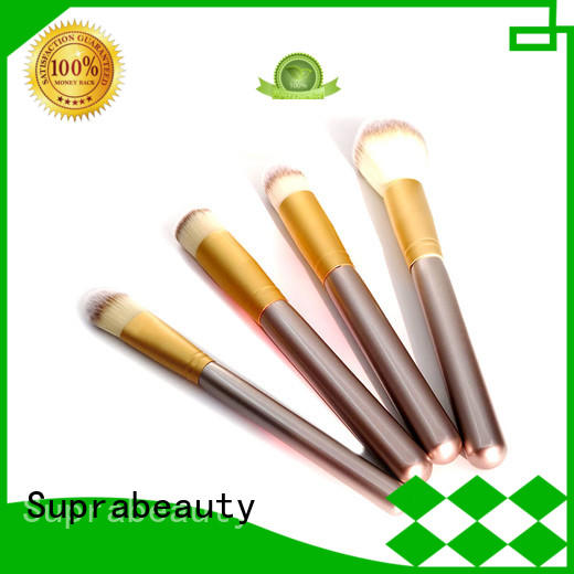 pcs makeup brush kit with curved synthetic hair for artists Suprabeauty