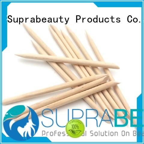 Suprabeauty oem cosmetic spatula with opp bag packaging for cleaning the dust