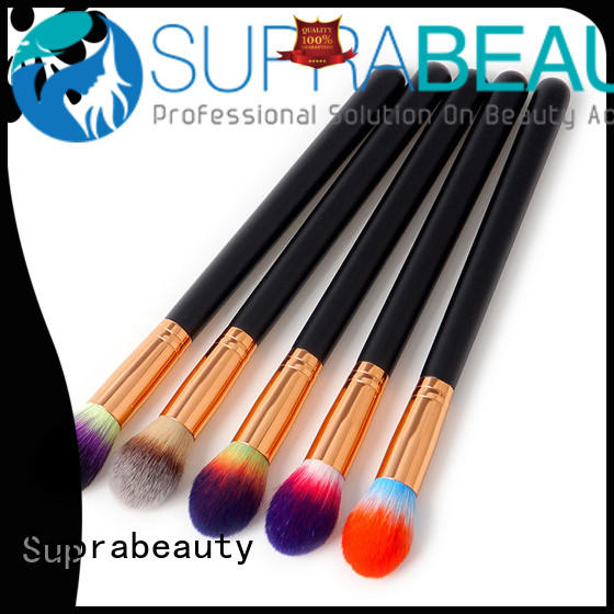 Suprabeauty gold cosmetic makeup brushes spb for eyeshadow