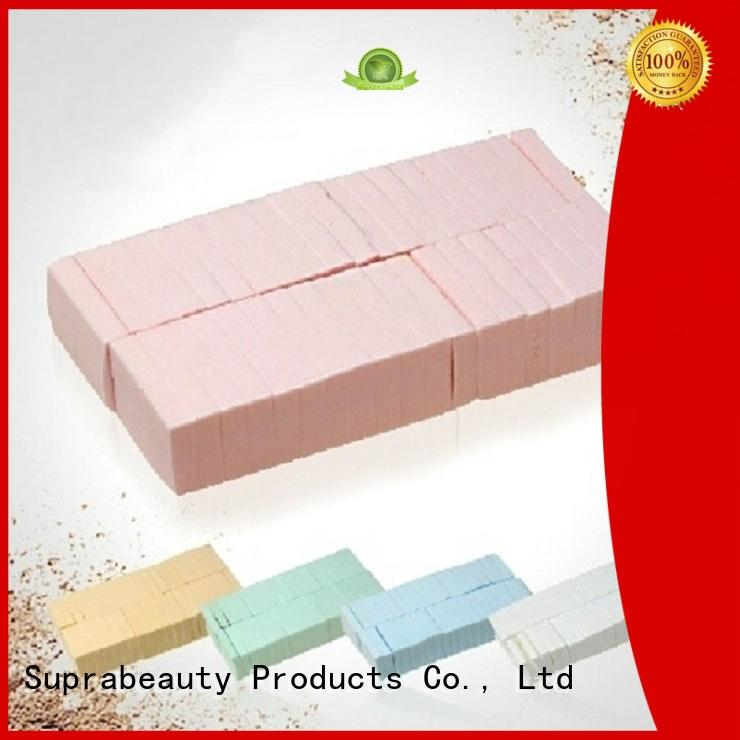 Suprabeauty tear the best makeup sponge sps for mineral dried powder