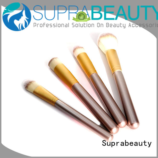 Suprabeauty portable affordable makeup brush sets for loose powder