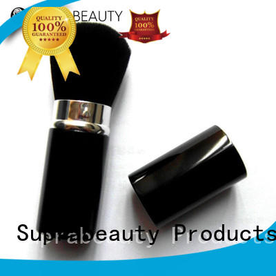 silicone cost of makeup brushes manufacturer for loose powder Suprabeauty