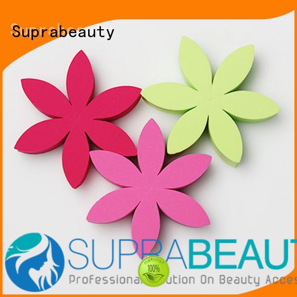 precut face makeup sponge manufacturer for cream foundation Suprabeauty