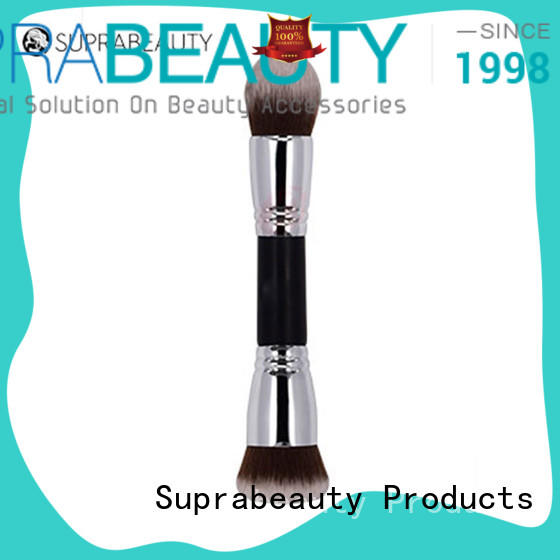 Suprabeauty oval retractable cosmetic brush with super fine tips for eyeshadow