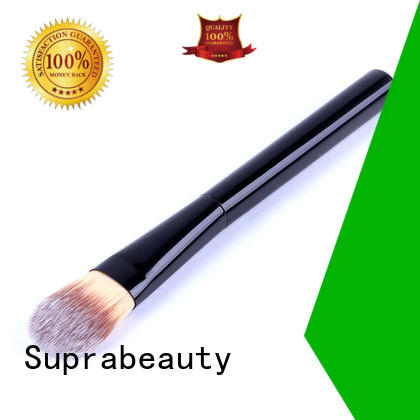 goat cream makeup brush with super fine tips for loose powder