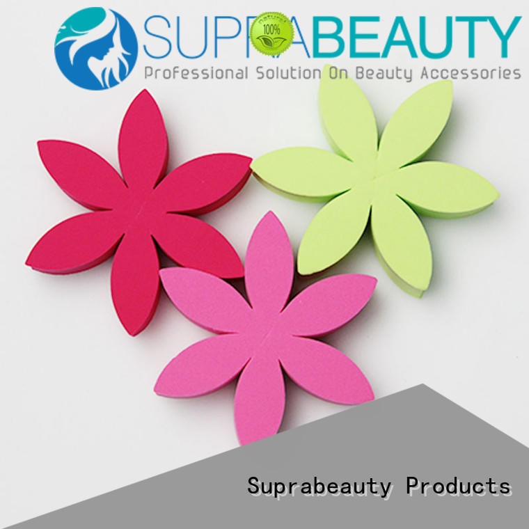 Suprabeauty disposable makeup sponge wedges supplier for mineral dried powder