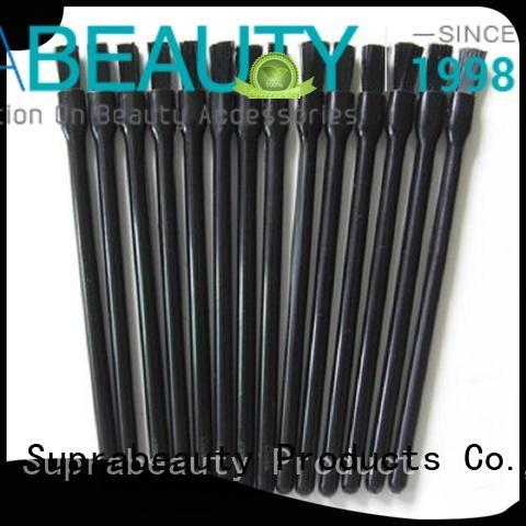 Disposable nail brush plastic handle nylon hair Suprabeauty SPD3006
