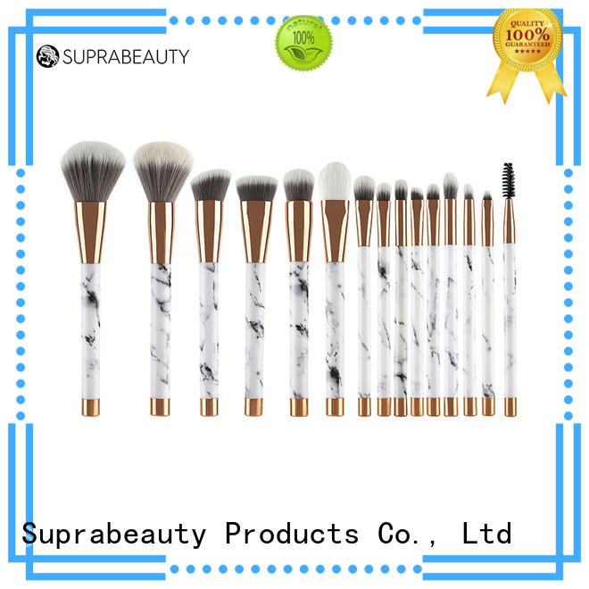 Suprabeauty pcs best rated makeup brush sets with brush belt for loose powder