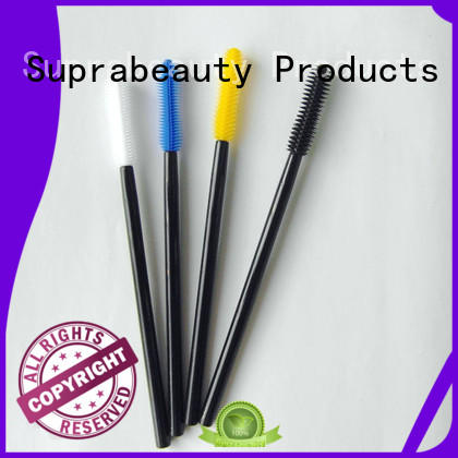 synthetic makeup applicator large tapper head for lip gloss cream