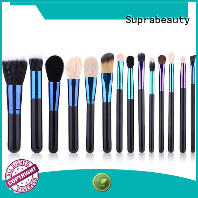 Suprabeauty foundation professional makeup brush set with curved synthetic hair for eyeshadow