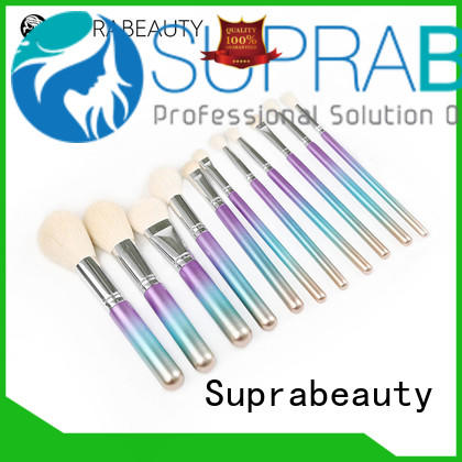 Suprabeauty top selling complete makeup brush set series for beauty