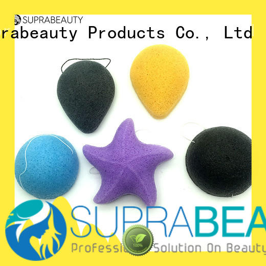 Suprabeauty konjac foundation egg sponge with customized color for mineral powder