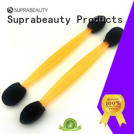 Suprabeauty white disposable eyelash brush large tapper head