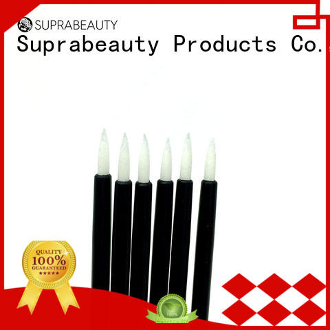 Suprabeauty white disposable eyeliner wands smudger for mascara tube
