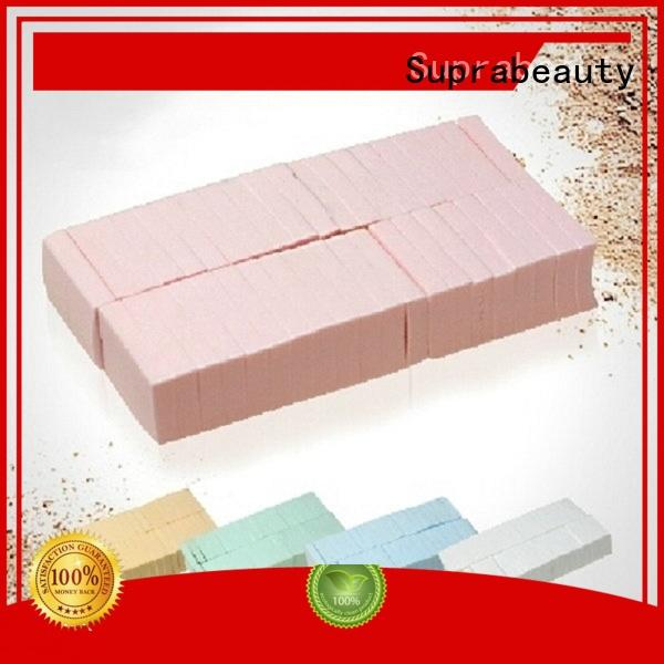 Suprabeauty pink best makeup sponges with customized color for cream foundation