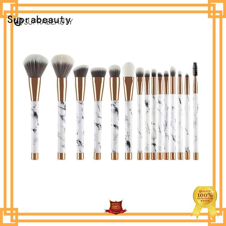 pcs makeup brush set cheap with brush belt for students