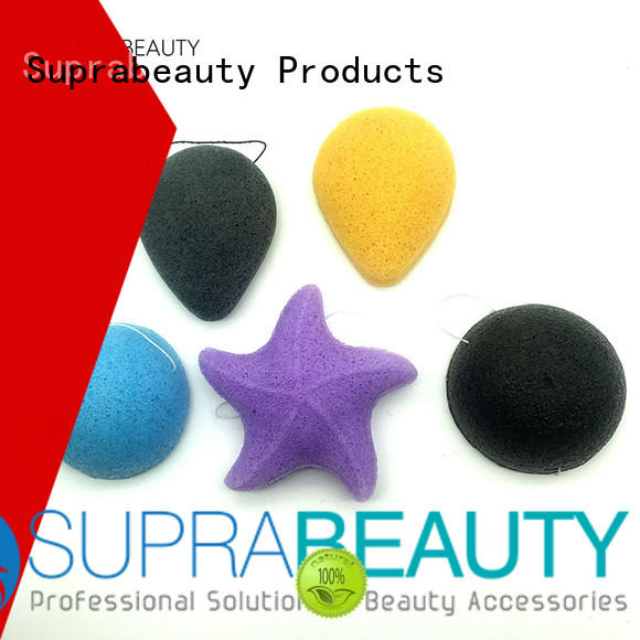 precut best cheap makeup sponges with customized color for mineral dried powder Suprabeauty