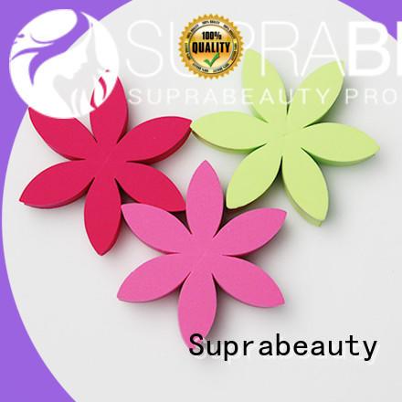 Suprabeauty portable makeup sponge wedges wholesale for packaging