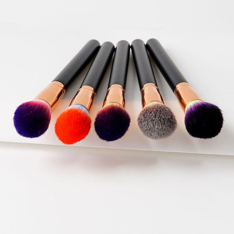 handle low price makeup brushes for liquid foundation-1