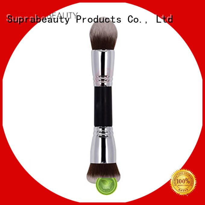 Fluffy makeup brush Suprabeauty double side makeup brush