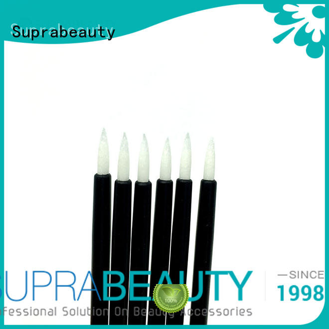 Suprabeauty spd eyeshadow applicator with bamboo handle for eyeshadow powder