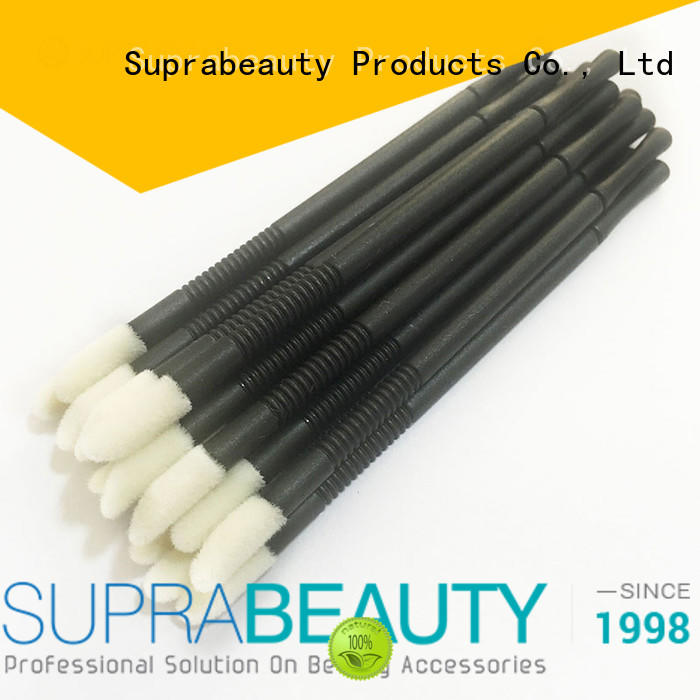 Suprabeauty spd lip brush with bamboo handle for eyelash extension liquid