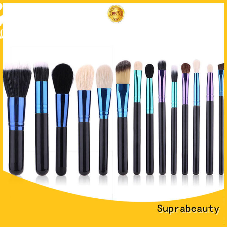 Suprabeauty promotional beauty brushes set factory direct supply for packaging
