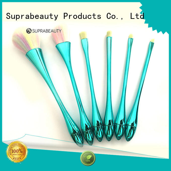 Suprabeauty free eyeshadow brush set with synthetic bristles