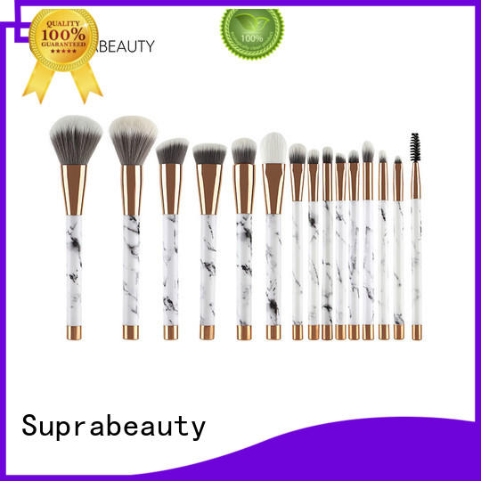 Suprabeauty pcs best quality makeup brush sets with synthetic bristles for students