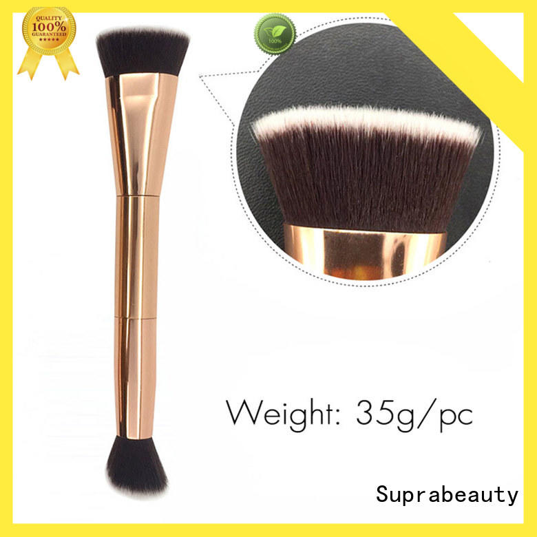 hair base makeup brush with super fine tips