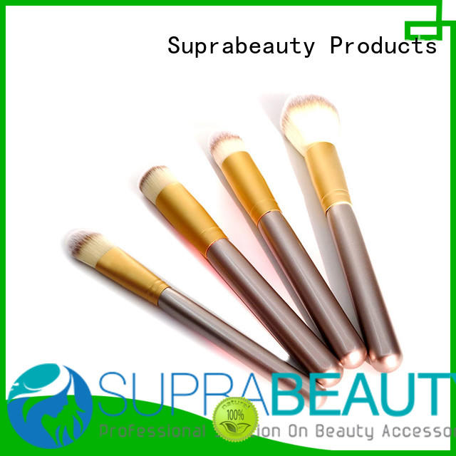 hair good quality makeup brush sets with synthetic bristles for loose powder