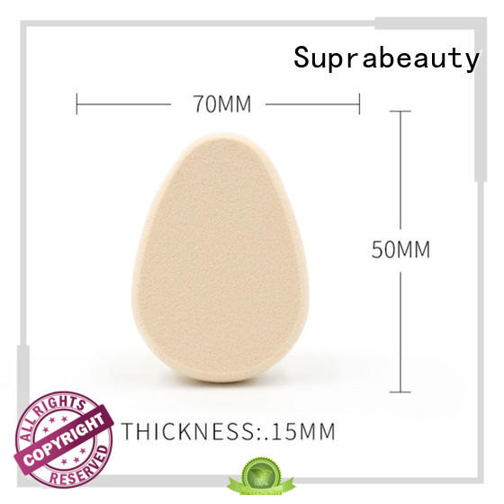 Suprabeauty flower shape foundation blending sponge sps for mineral dried powder