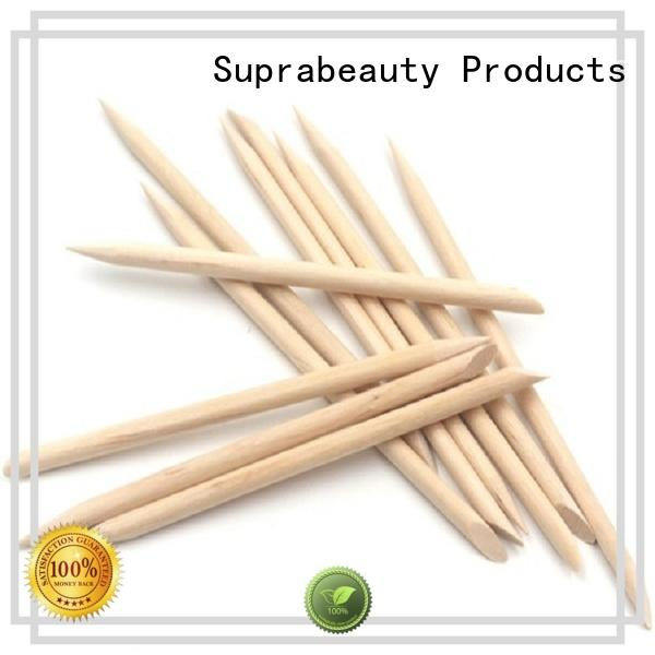 Suprabeauty customized wooden nail stick spd for cleaning the dust