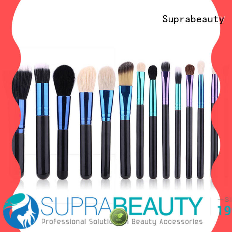 pcs nice makeup brush set with brush belt for loose powder Suprabeauty