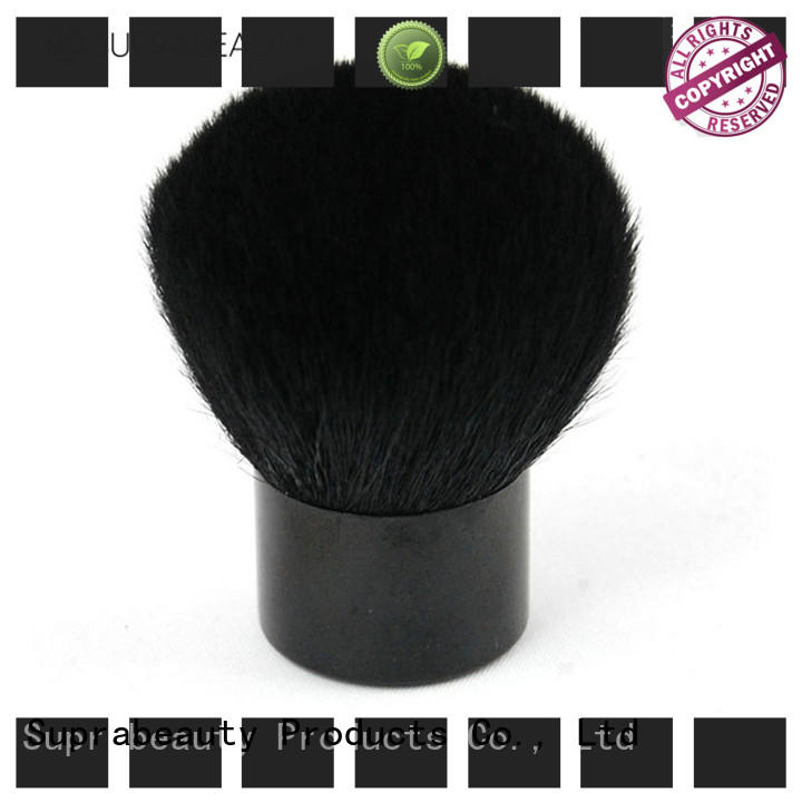 Suprabeauty flat retractable cosmetic brush with super fine tips for loose powder