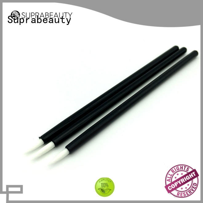 Suprabeauty gloss disposable brow brush large tapper head for eyelash extension liquid